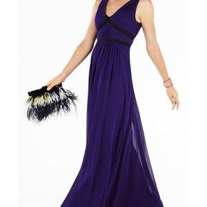 NWT BCBG Aurica Pleated Formal Gown sz 4